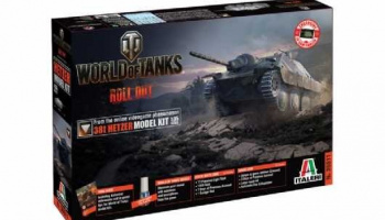 World of Tanks 36511 - 38t HETZER (1:35) - Italeri