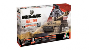 World of Tanks 56501 - Pz.Kpfw.VI Tiger (1:56) - Italeri