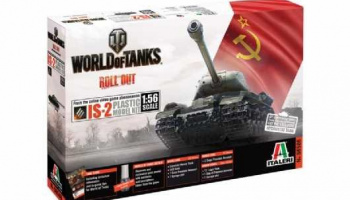 World of Tanks 56506 - JOSEF STALIN JS-2 (1:56) - Italeri