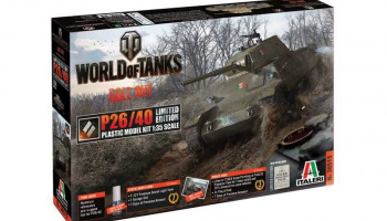 World of Tanks Limited Edition 36515 - P26/40 (1:35) - Italeri