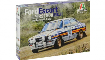 Ford Escort RS1800 MK.II Lombard RAC Rally (1:24) - Italeri Model Kit auto 3650
