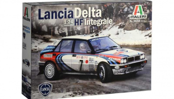 Lancia Delta HF Integrale (1:24) Model Kit 3658 - Italeri