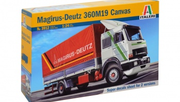 MAGIRUS DEUTZ 360M19 CANVAS - Italeri