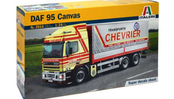 DAF 95 CANVAS (1:24) Model Kit 3914 - Italeri