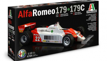 Alfa Romeo 179 - 179C (1:12) Model Kit 4704 - Italeri