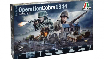 Model Kit diorama 6116 - OPERATION COBRA 1944 (1:72) – Italeri