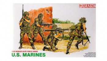 Model Kit figurky 3007 - U.S. MARINES (1:35)