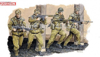 Model Kit figurky 3021 - GERMAN PARATROOPERS (1:35)