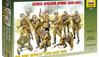 Model Kit figurky 3526 - Red Army Infantry (1940-42) (1:35)