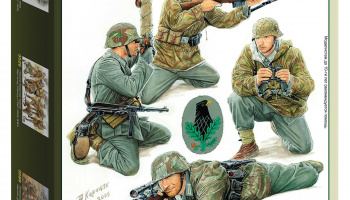 Model Kit figurky 3595 - German Sniper Team (1:35)