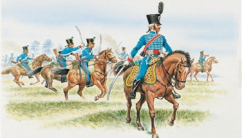 Model Kit figurky 6008 - FRENCH HUSSARS (NAP. WARS) (1:72)