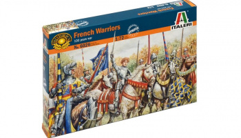 Model Kit figurky 6026 - FRENCH WARRIORS (100 YEARS WAR) (1:72)