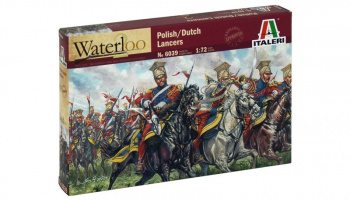 Model Kit figurky 6039 - POLISH-DUTCH LANCERS (NAP.WARS) (1:72)