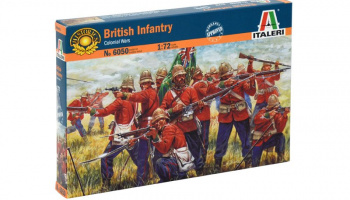 Model Kit figurky 6050 - ZULU WARS - BRITISH INFANTRY (1:72)