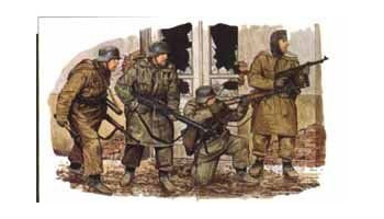 Model Kit figurky 6059 - PANZERGRENADIERS (KHARKOV 1943) (1:35)