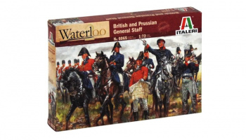 Model Kit figurky 6065 - BRITISH & PRUSSIAN GENERAL STAFF (NAP.WARS) (1:72)