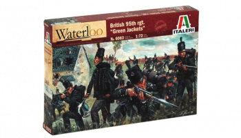 Model Kit figurky 6083 - NAPOLEONIC WARS - BRITISH 95th rgt. (1:72)
