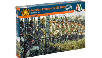 Model Kit figurky 6093 - AUSTRIAN INFANTRY 1798-1805 (NAP.WARS) (1:72)