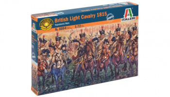 Model Kit figurky 6094 - NAPOLEONIC WARS - BRITISH LIGHT CAVALRY 1815 (1:72)