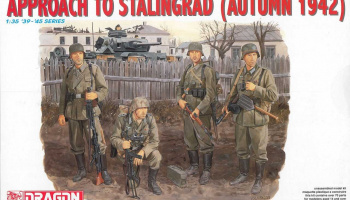 Model Kit figurky 6122 - APPROACH TO STALINGRAD (AUTUMN 1942) (1:35)