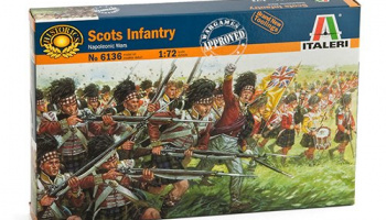 Model Kit figurky 6136 - SCOTTISH INFANTRY (NAP.WARS) (1:72)