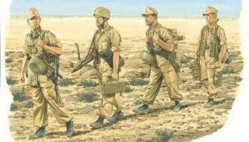 Model Kit figurky 6142 - RAMCKE BRIGADE (1:35)