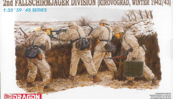 Model Kit figurky 6157 - 2nd FALLSCHIRMJÄGER DIVISION (KIROVOGRAD, WINTER 1942/43) (1:35)