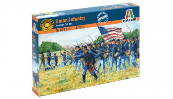 Model Kit figurky 6177 - UNION INFANTRY (AMERICAN CIVIL WAR) (1:72)