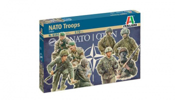 NATO TROOPS (1980s) (1:72) Model Kit 6191 - Italeri