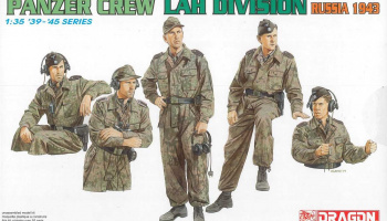 Model Kit figurky 6214 - PANZER CREW, LAH DIVISION (RUSSIA 1943) (1:35)
