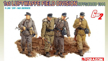 Model Kit figurky 6274 - 1st LUFTWAFFE FIELD DIVISION (NOVGOROD 1944) (GEN2) (1:35)