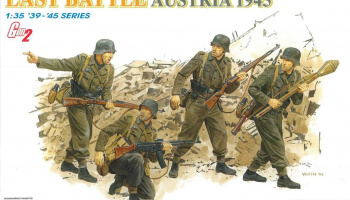"Model Kit figurky 6278 - ""LAST BATTLE"" (AUSTRIA 1945) (GEN2) (1:35)"