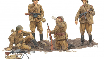 Model Kit figurky 6376 - SOVIET GUARDS INFANTRY 1944-45 (GEN2) (1:35)