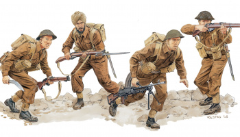 Model Kit figurky 6515 - ALLIED ASSAULT (MONTE CASSINO 1944) (1:35)
