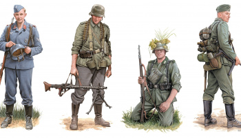 Model Kit figurky 6656 - Advance to Kharkov 1942 (1:35)