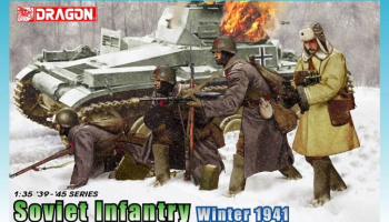 Model Kit figurky 6744 - Soviet Infantry Winter 1941 (1:35)