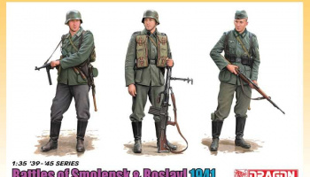 Model Kit figurky 6791 - Battle of Smolensk & Roslavl 1941 (1:35)