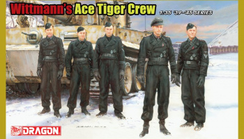 Model Kit figurky 6831 - Wittmann´s Ace Tiger Crew (1:35)