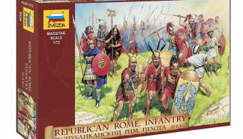 Republican Rome Infantry (RR) (1:72) Model Kit figurky 8034 - Zvezda