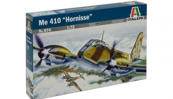"Model Kit letadlo 0074 - ME 410 ""HORNISSE"" (1:72)"