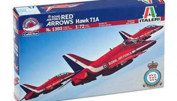 Model Kit letadlo 1303 - Hawk T.Mk.1 ''Red Arrows'' (1:72)
