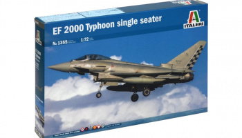 Model Kit letadlo 1355 - EF-2000 TYPHOON Single Seater (1:72)