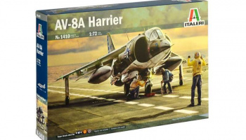 AV-8A HARRIER (1:72) Italeri Model Kit 1410