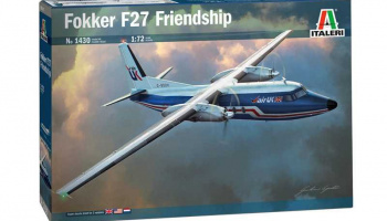 Fokker F27  Friendship (1:72) Model Kit letadlo 1430