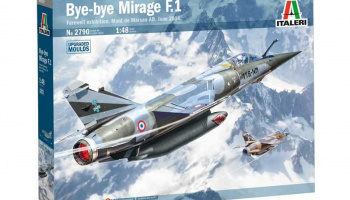 Bye-bye MIRAGE F1 (1:48) Model Kit 2790 - Italeri