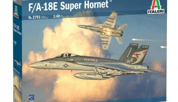 F/A-18 E SUPER HORNET (1:48) Model Kit 2791 - Italeri