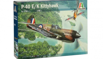 P-40E/K Kittyhawk (1:48) Italeri Model Kit 2795