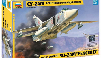 "Model Kit letadlo 7267 - Front bomber Su-24M ""Fencer D"" (1:72)"