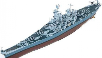 Model Kit loď 14401 - USS Missouri BB-63 (1:400)