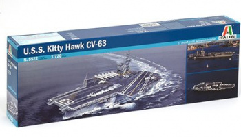 Model Kit loď 5522 - U.S.S. KITTY HAWK CV-63 (1:720)